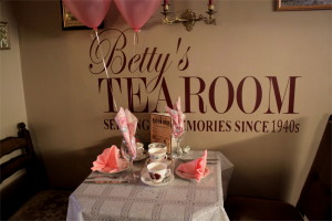 Betty's Tearoom - serving up memories with 1940's